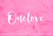 Free Onelove Handwritten Font