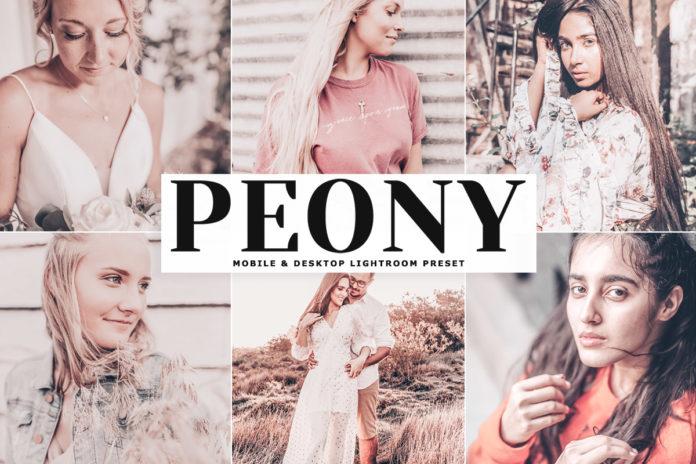 Free Peony Lightroom Preset