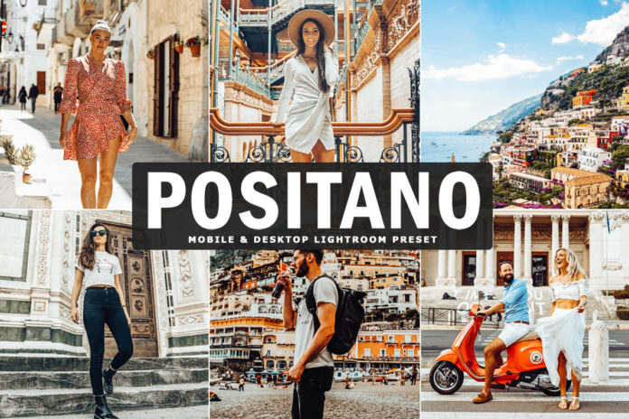 Free Positano Lightroom Preset