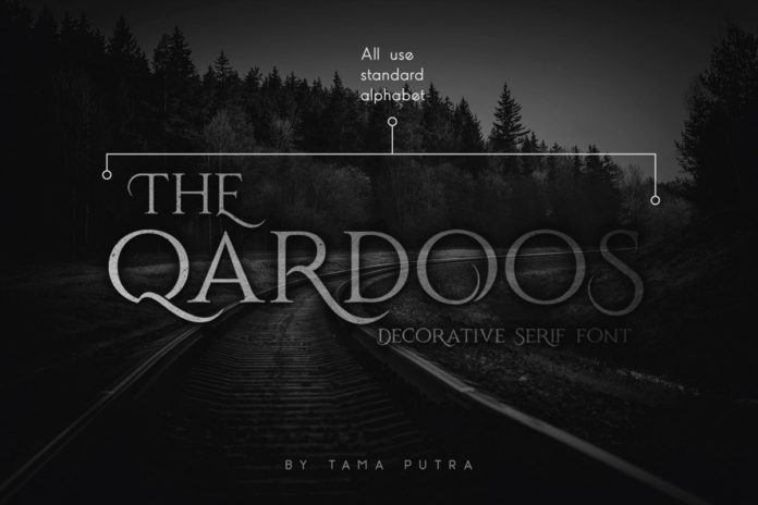 Free Qardoos Display Serif Font