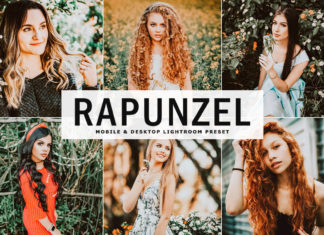 Free Rapunzel Lightroom Preset