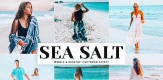 Free Sea Salt Lightroom Preset