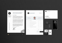 Free Stationary Mockups Template