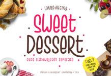 Free Sweet Dessert Handwritten Font
