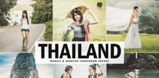 Free Thailand Lightroom Preset