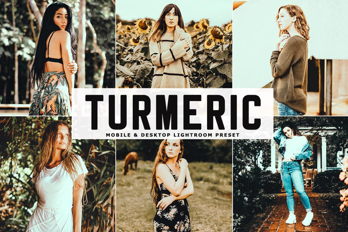 Free Turmeric Lightroom Preset