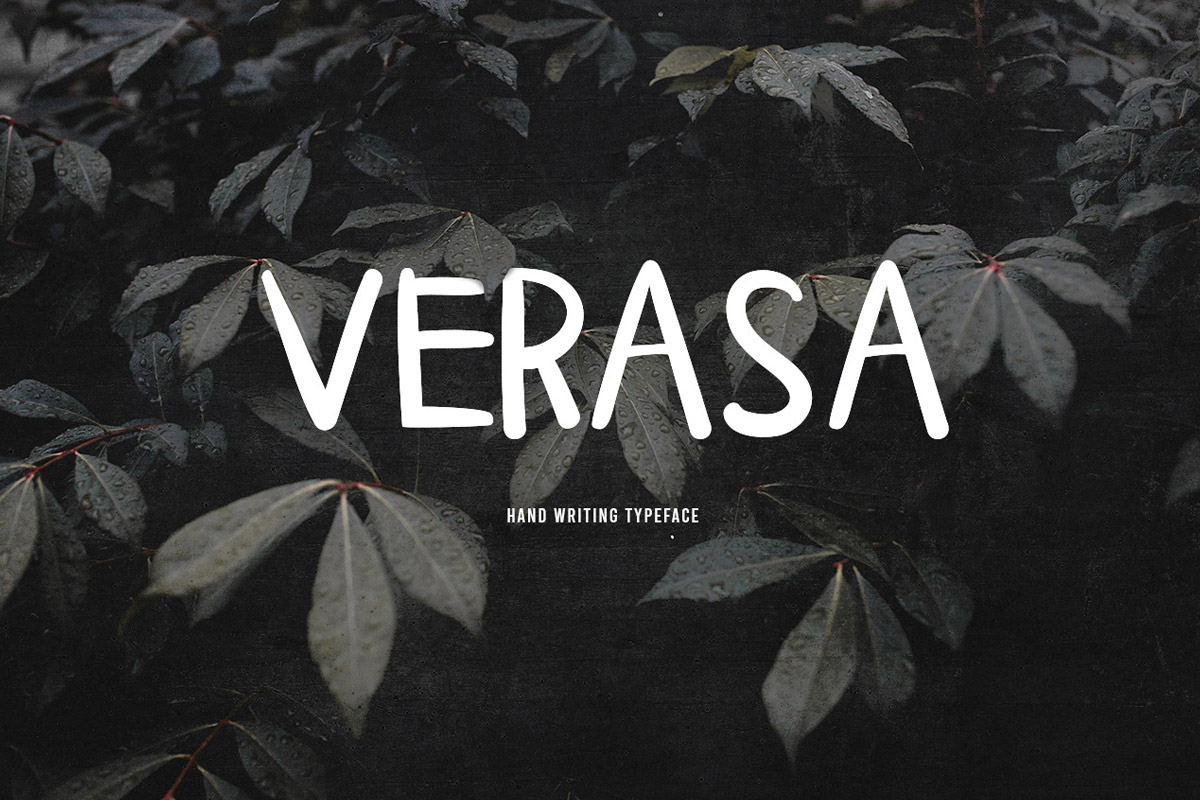 Free Verasa Handwriting Font