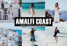 Free Amalfi Coast Lightroom Preset