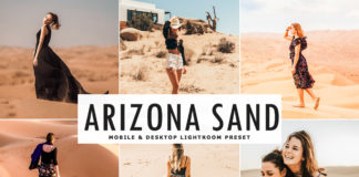 Free Arizona Sand Lightroom Preset