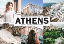Free Athens Lightroom Preset