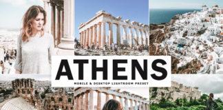 Free Athens Lightroom Preset