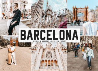 Free Barcelona Lightroom Preset