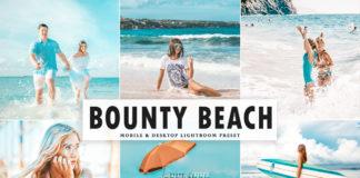 Free Bounty Beach Lightroom Preset