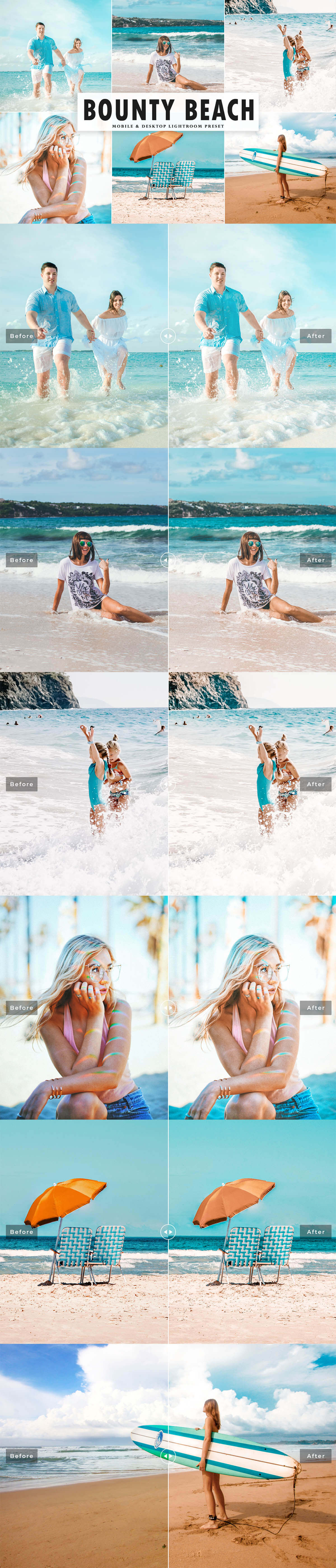Free Bounty Beach Lightroom Preset