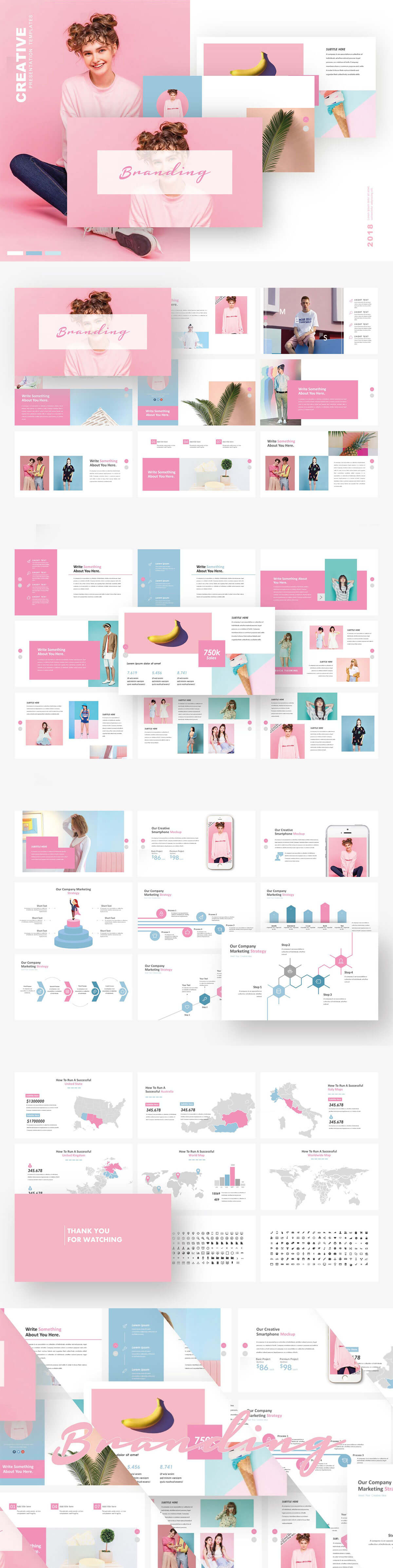 Free Branding PowerPoint Presentation Template
