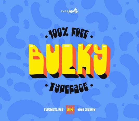 Free Bulky Grotesque Font