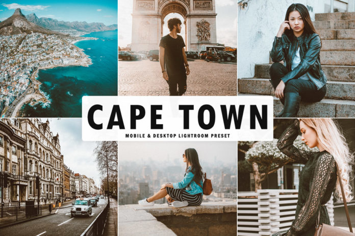 Free Cape Town Lightroom Preset