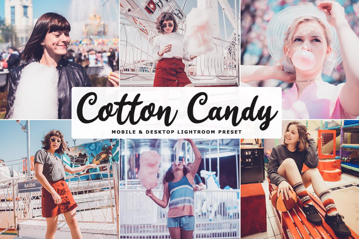 Free Cotton Candy Lightroom Preset