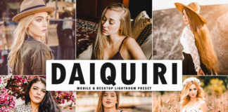 Free Daiquiri Lightroom Preset
