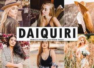 Free Daiquiri Lightroom Preset