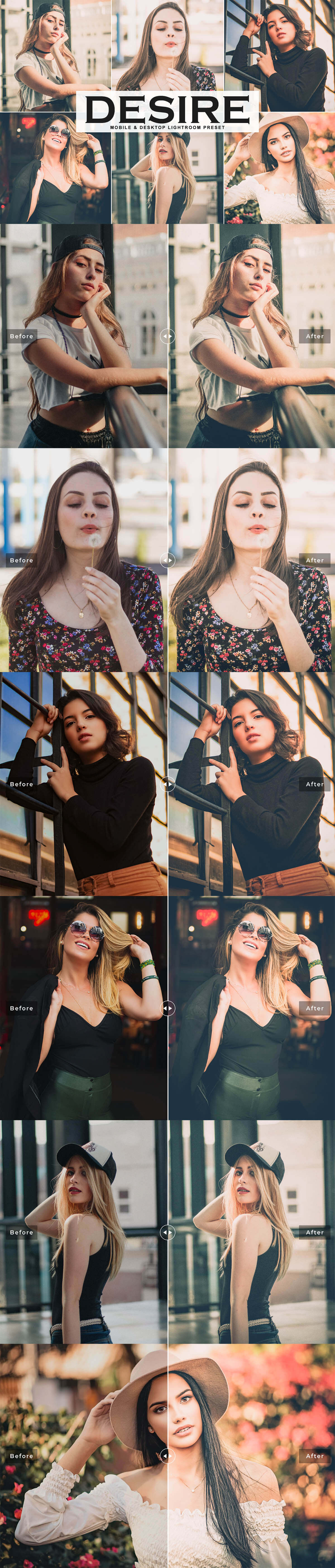 Free Desire Lightroom Preset
