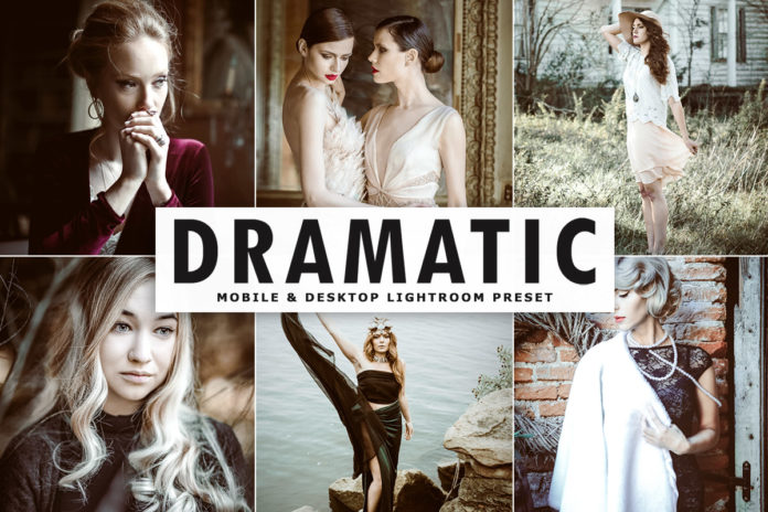 Free Dramatic Lightroom Preset