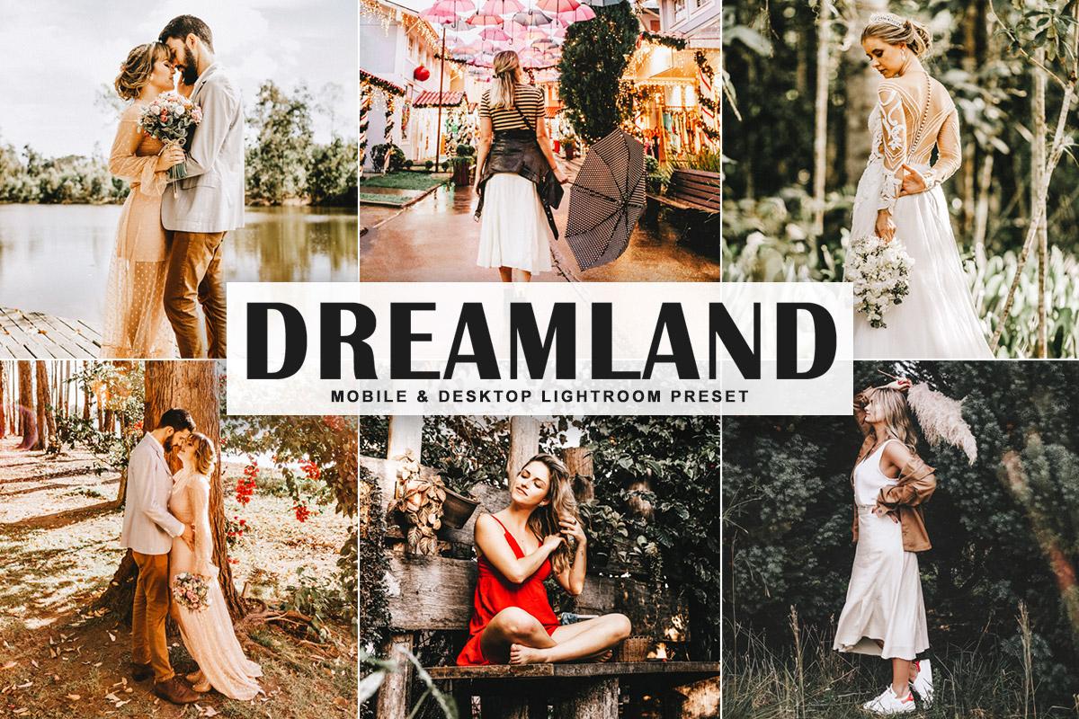 Free Dreamland Lightroom Preset