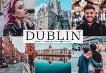 Free Dublin Lightroom Preset