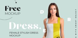 Free Elegant Dress Mockup