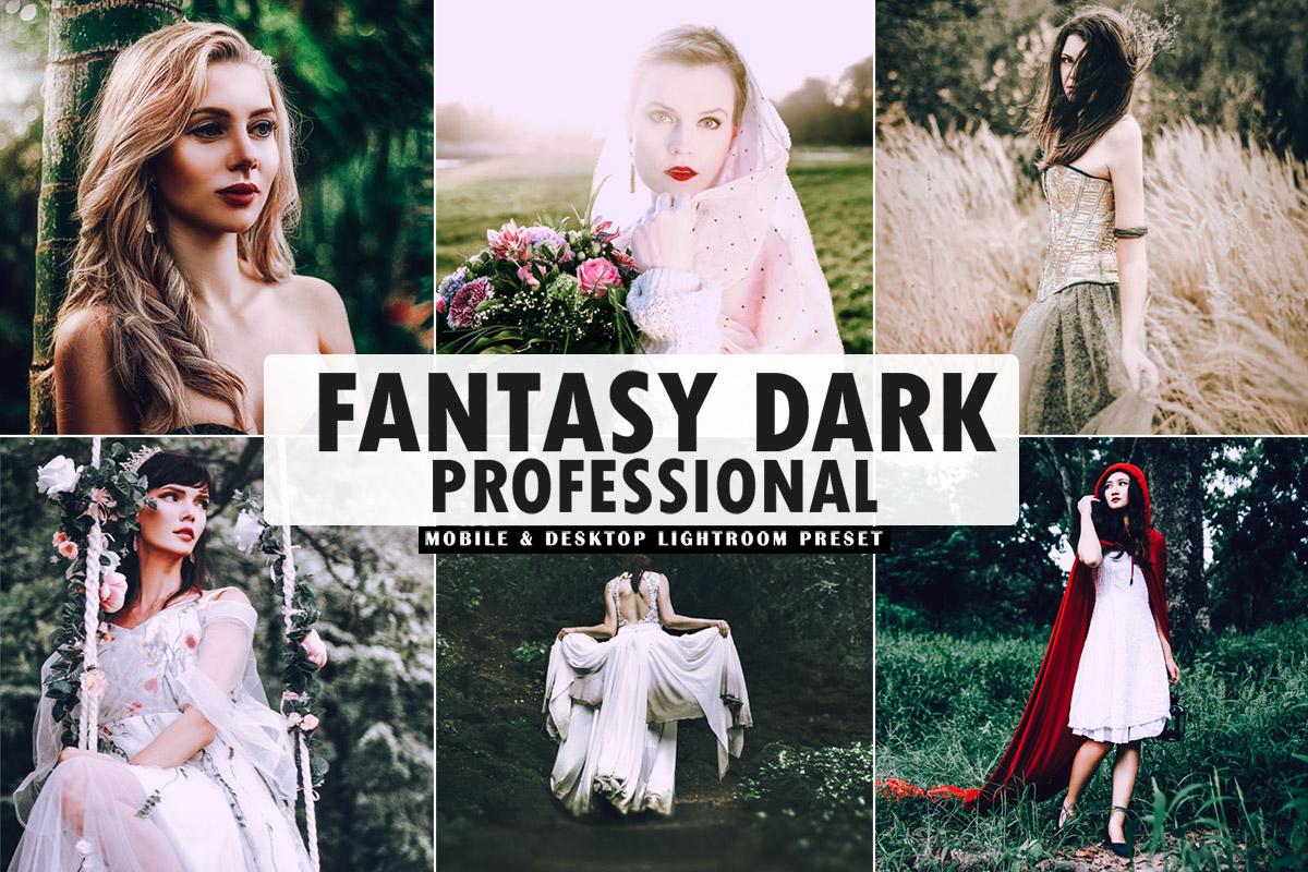 Free Fantasy Dark Pro Lightroom Preset