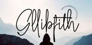 Free Gllibfith Handwritten Font