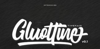 Free Gluottine Modern Calligraphy Font