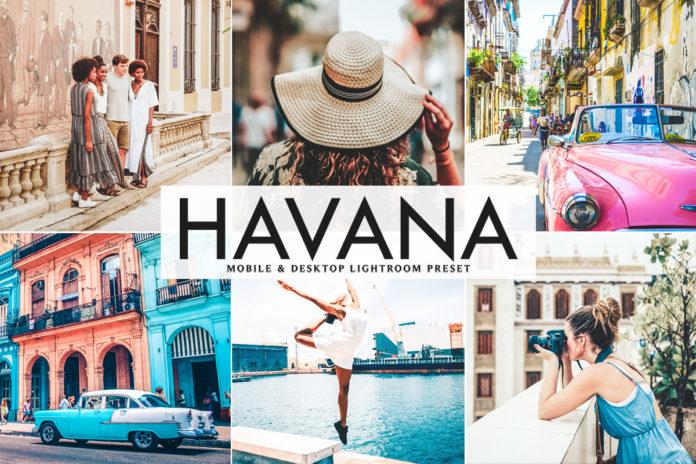 Free Havana Lightroom Preset