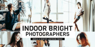 Free Indoor Bright Lightroom Preset