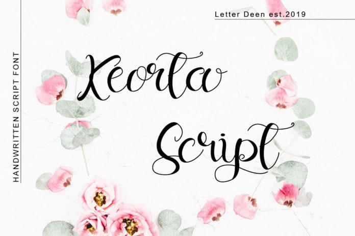 Free Keorta Script Font