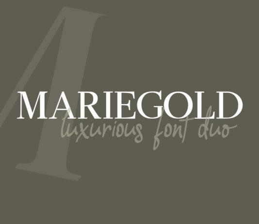 Free Mariegold Font Duo
