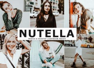 Free Nutella Lightroom Preset