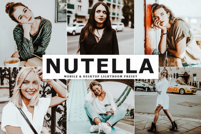 Free Nutella Lightroom Preset