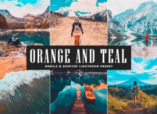 Free Orange and Teal Lightroom Preset