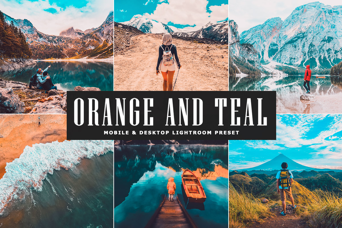 Free Orange And Teal Lightroom Preset Creativetacos