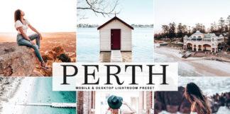 Free Perth Lightroom Preset
