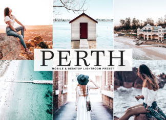 Free Perth Lightroom Preset