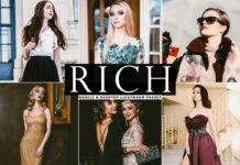 Free Rich Lightroom Preset