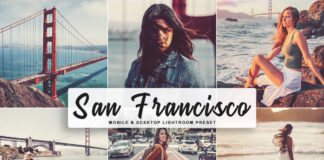 Free San Francisco Lightroom Preset