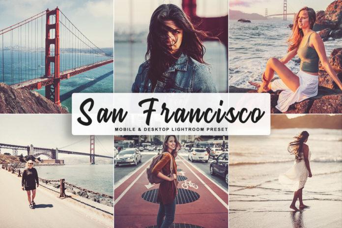 Free San Francisco Lightroom Preset