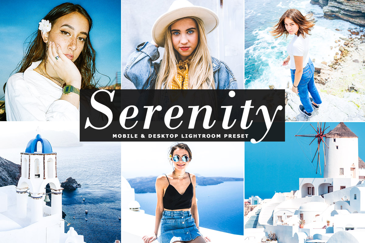 Free Serenity Lightroom Preset