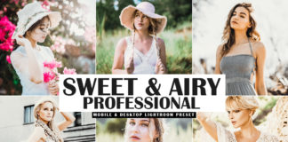 Free Sweet & Airy Pro Lightroom Preset