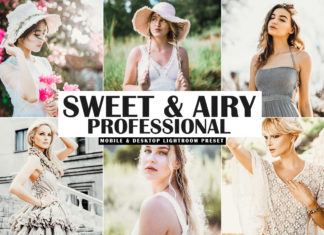Free Sweet & Airy Pro Lightroom Preset