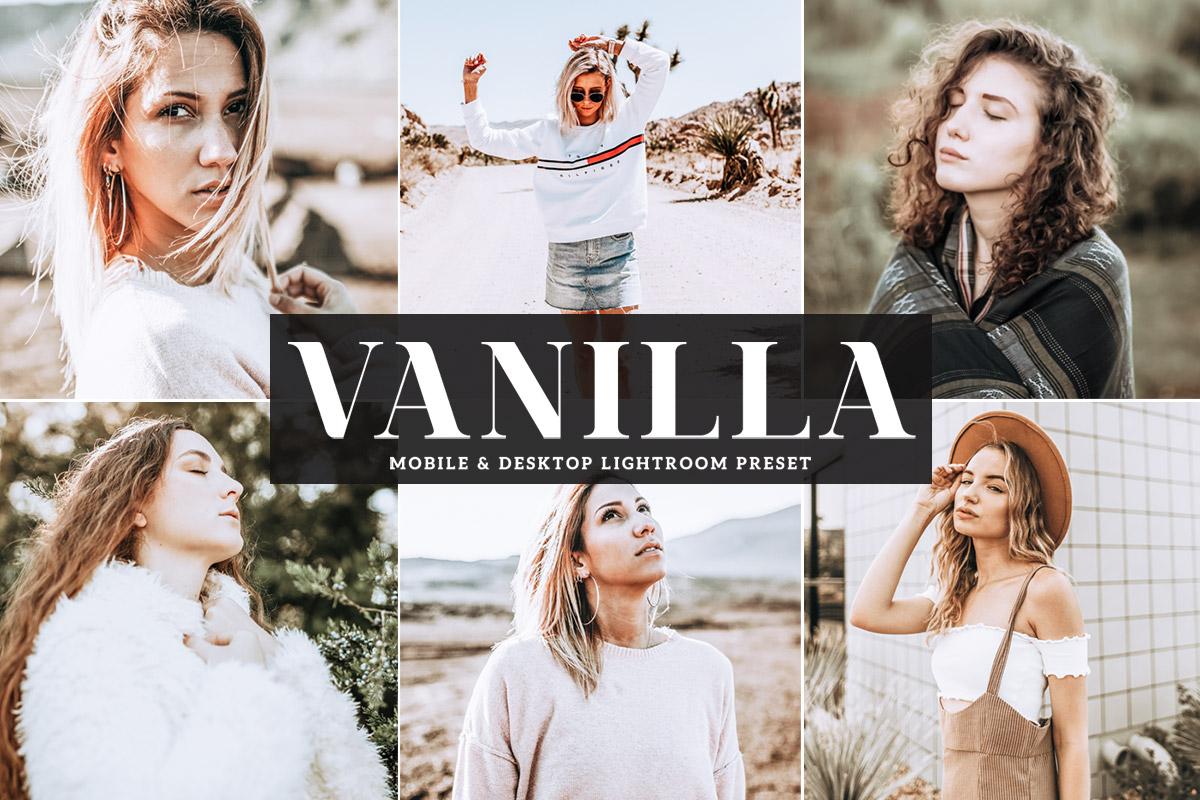 Free Vanilla Mobile & Desktop Lightroom Preset