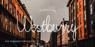 Free Westburry Handwritten Font